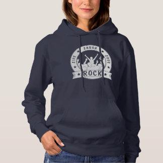 Live Laugh Love ROCK (wht) Hoodie