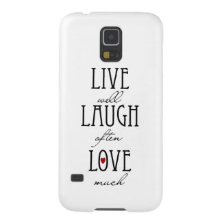 Live laugh love simple text samsung galaxy nexus covers
