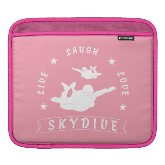 Live Laugh Love Skydive. Sleeve For iPads