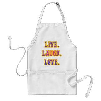 Live. Laugh. Love. Standard Apron