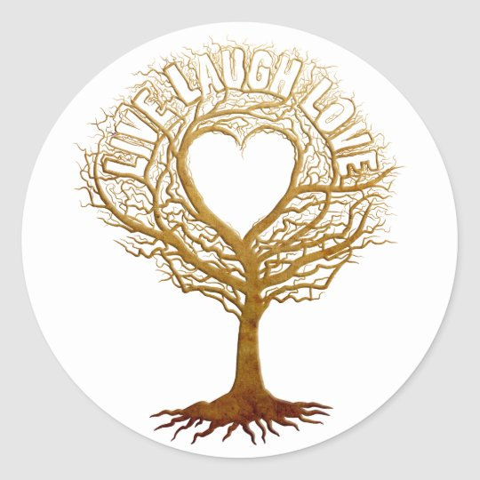 Live Laugh Love - Tree of Life Classic