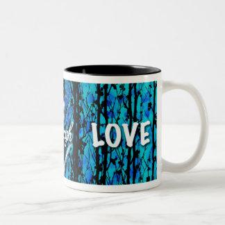 live laugh love Two-Tone mug