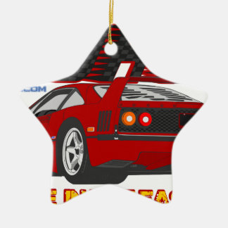 LIVE_LIFE_IN_THE_FAST_LANE: forty Christmas Ornament
