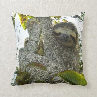Live Life Like a Sloth Throw Cushion