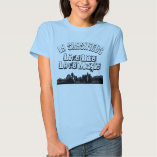 LiVE LiFE LOVE MUSiC FOR DARKS Shirt