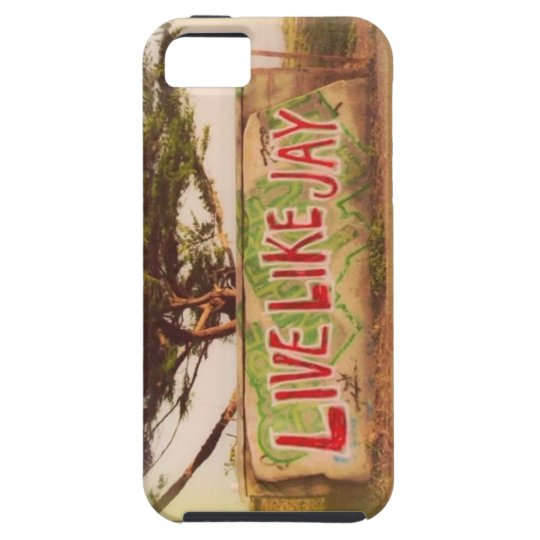 Live like jay iPhone 5 case