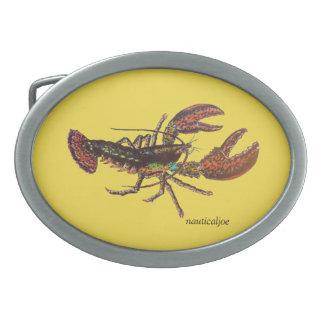 live lobster belt buckle