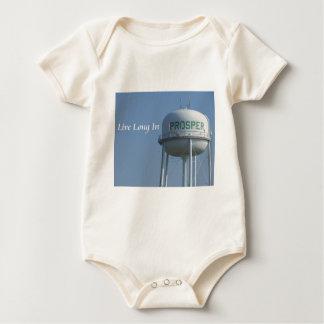 Live Long in Prosper (TX) organic baby onsie Bodysuit