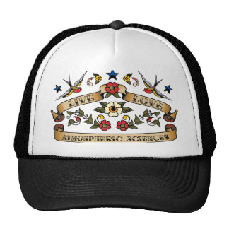 Live Love Atmospheric Sciences Trucker Hat
