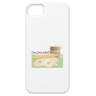 Live, Love, Bake! iPhone 5 Cover