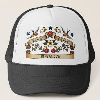 Live Love Banjo Trucker Hat