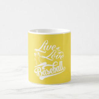 LIVE - LOVE - BASEBALL COFFEE MUG