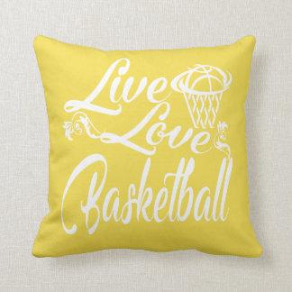 LIVE - LOVE - BASKETBALL CUSHION