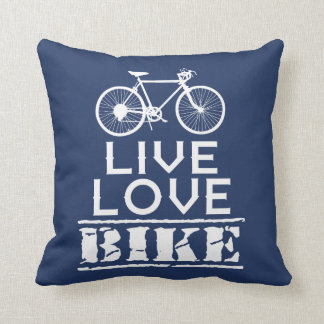 LIVE - LOVE - BIKE CUSHION