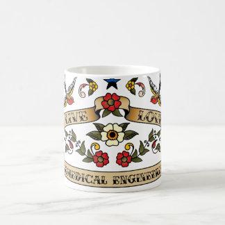 Live Love Biomedical Engineering Classic White Coffee Mug