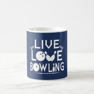 LIVE - LOVE - BOWLING COFFEE MUG
