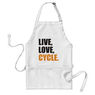 Live, Love, Cycle Standard Apron
