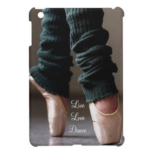 Live Love Dance Ballet iPad Mini Cases