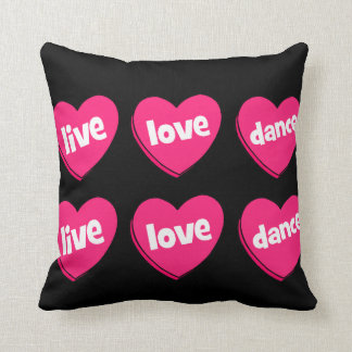 live love dance cushion