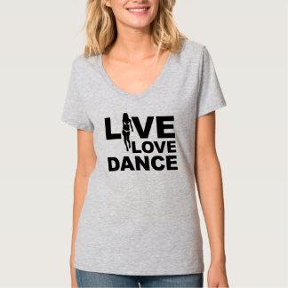 Live Love Dance T-shirts