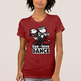 LIVE LOVE DANCE TANGO SHIRT