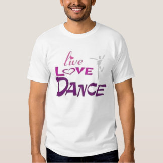 LIVE LOVE DANCE TEES