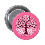 live love earth 6 cm round badge