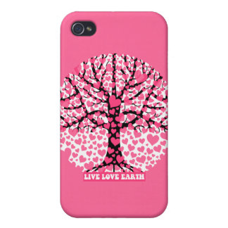 live love earth iPhone 4/4S cases