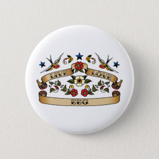 Live Love EEG 6 Cm Round Badge