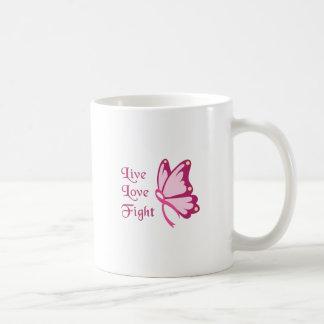 Live Love Fight Mugs