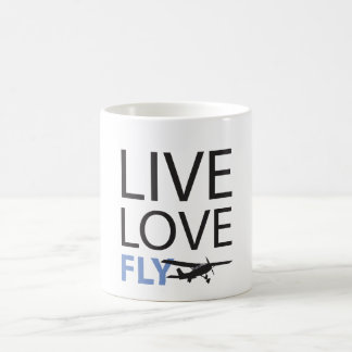 Live Love Fly Basic White Mug