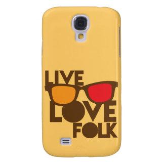 Live LOVE FOLK music Galaxy S4 Case