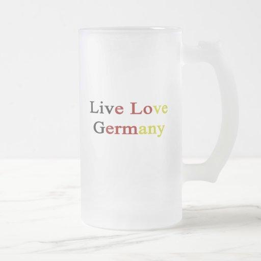 Live Love Germany Mugs