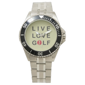 live love golf watch. watch