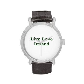Live Love Ireland Wrist Watches