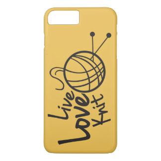 Live Love Knit | Knitting iPhone 8 Plus/7 Plus Case