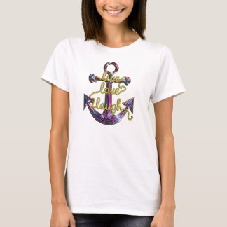 Live Love Laugh Anchor T-Shirt