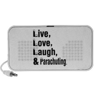 Live Love Laugh And Parachuting Speaker