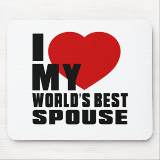 Live Love Laugh And SPOUSE Mouse Pad