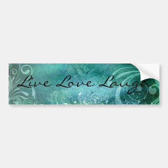 Live Love Laugh bumper sticker