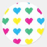Live. Love. Laugh. Classic Round Sticker