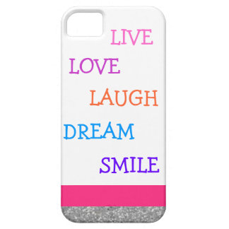 Live love laugh dream smile iPhone 5 cover