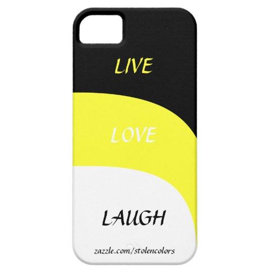Live Love Laugh Iphone 5 iPhone 5 Cases