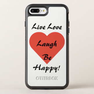 Live Love Laugh iPhone 7 Otterbox