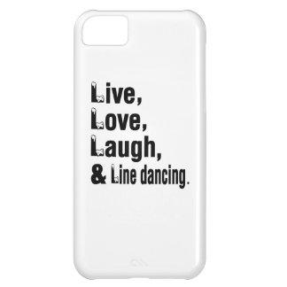 Live Love Laugh & Line dancing iPhone 5C Case