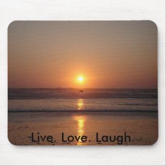 Live. Love. Laugh. Mouse Mat