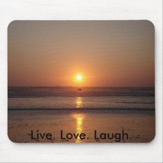 Live. Love. Laugh. Mouse Mats