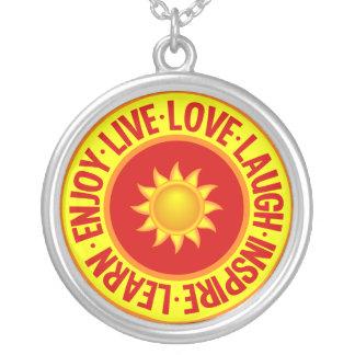 LIVE LOVE LAUGH ... necklace