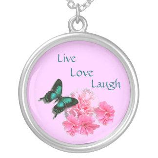 Live Love Laugh Necklace Pendants