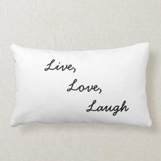Live, Love, Laugh Pillow Cushion